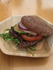 Straußenfilet-Burger